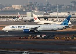 Leerzeichenさんが、羽田空港で撮影したユナイテッド航空 787-10の航空フォト(飛行機 写真・画像)