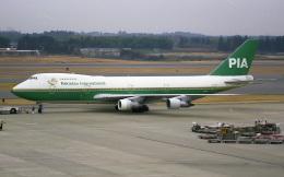 @たかひろさんが、成田国際空港で撮影したパキスタン国際航空 747-282Bの航空フォト(飛行機 写真・画像)