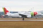 BTYUTAさんが、ヴァーツラフ・ハヴェル・プラハ国際空港で撮影したTAPポルトガル航空 A319-111の航空フォト(飛行機 写真・画像)