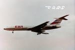 tassさんが、ロンドン・ヒースロー空港で撮影したチェコ航空 Tu-154Mの航空フォト(飛行機 写真・画像)