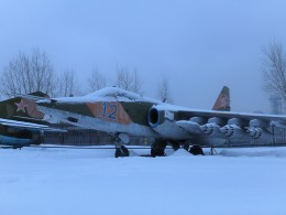 Smyth Newmanさんが、大祖国戦争中央博物館で撮影したロシア海軍 Su-25の航空フォト(飛行機 写真・画像)