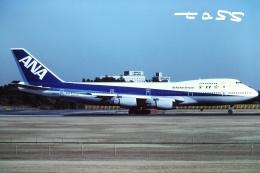tassさんが、成田国際空港で撮影した全日空 747-281Bの航空フォト(飛行機 写真・画像)
