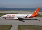 WING_ACEさんが、関西国際空港で撮影したチェジュ航空 737-86Jの航空フォト(飛行機 写真・画像)