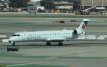 uhfxさんが、サンフランシスコ国際空港で撮影したエア・カナダ・エクスプレス CL-600-2D15 Regional Jet CRJ-705ERの航空フォト(飛行機 写真・画像)