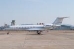 髪刈虫(かみきりむし)さんが、名古屋飛行場で撮影したTVPX AIRCRAFT SOLUTIONS C-37B Gulfstream G550 (G-V-SP)の航空フォト(飛行機 写真・画像)