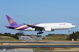 kuraykiさんが、成田国際空港で撮影したタイ国際航空 777-2D7/ERの航空フォト(飛行機 写真・画像)