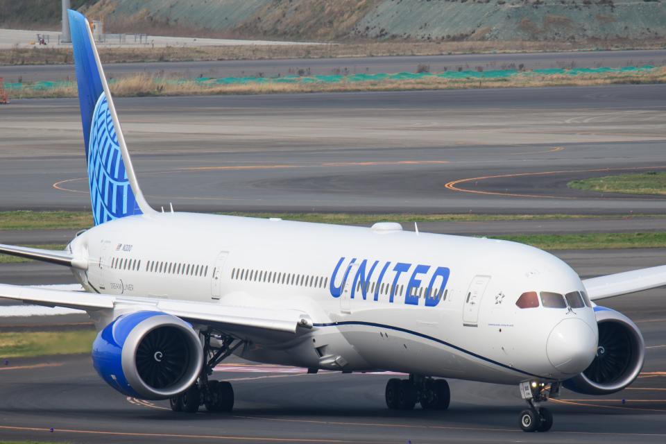 kuraykiさんのユナイテッド航空 Boeing 787-10 (N12010) 航空フォト