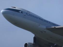 パピヨンさんが、成田国際空港で撮影したキャセイパシフィック航空 747-467(BCF)の航空フォト(飛行機 写真・画像)
