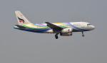 kenko.sさんが、シェムリアップ国際空港で撮影したバンコクエアウェイズ A319-132の航空フォト(飛行機 写真・画像)
