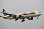 mojioさんが、成田国際空港で撮影したシンガポール航空 777-312/ERの航空フォト(飛行機 写真・画像)