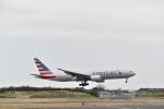 シャークレットさんが、成田国際空港で撮影したアメリカン航空 777-223/ERの航空フォト(飛行機 写真・画像)