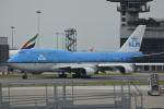 LEGACY-747さんが、香港国際空港で撮影したKLMオランダ航空 747-406Mの航空フォト(飛行機 写真・画像)