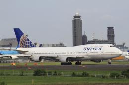 VEZEL 1500Xさんが、成田国際空港で撮影したユナイテッド航空 747-451の航空フォト(飛行機 写真・画像)