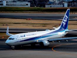名無しの権兵衛さんが、伊丹空港で撮影した全日空 737-881の航空フォト(飛行機 写真・画像)