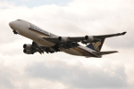 LEGACY-747さんが、関西国際空港で撮影したシンガポール航空カーゴ 747-412F/SCDの航空フォト(飛行機 写真・画像)