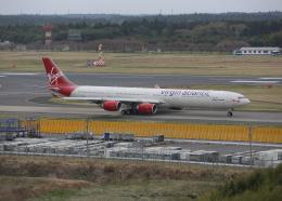 銀苺さんが、成田国際空港で撮影したヴァージン・アトランティック航空 A340-642Xの航空フォト(飛行機 写真・画像)