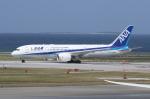 ☆ゆっきー☆さんが、那覇空港で撮影した全日空 787-8 Dreamlinerの航空フォト(飛行機 写真・画像)