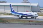 ☆ゆっきー☆さんが、那覇空港で撮影した全日空 767-381/ERの航空フォト(飛行機 写真・画像)