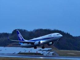 ナナオさんが、石見空港で撮影した全日空 737-8ALの航空フォト(飛行機 写真・画像)