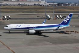 みっしーさんが、羽田空港で撮影した全日空 767-381/ERの航空フォト(飛行機 写真・画像)