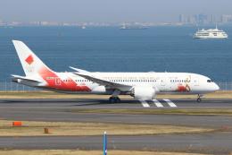 せぷてんばーさんが、羽田空港で撮影した日本航空 787-8 Dreamlinerの航空フォト(飛行機 写真・画像)