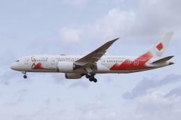 せぷてんばーさんが、松島基地で撮影した日本航空 787-8 Dreamlinerの航空フォト(飛行機 写真・画像)