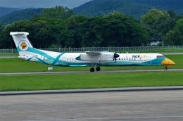 amagoさんが、チェンマイ国際空港で撮影したノックエア DHC-8-402Q Dash 8の航空フォト(飛行機 写真・画像)