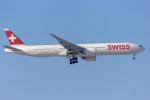 mameshibaさんが、成田国際空港で撮影したスイスインターナショナルエアラインズ 777-3DE/ERの航空フォト(飛行機 写真・画像)