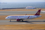 せせらぎさんが、中部国際空港で撮影した吉祥航空 A320-214の航空フォト(飛行機 写真・画像)