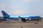 Hiro-hiroさんが、羽田空港で撮影した大韓航空 747-4B5の航空フォト(飛行機 写真・画像)