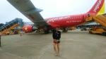 qo_opさんが、ノイバイ国際空港で撮影したベトジェットエア A320-214の航空フォト(飛行機 写真・画像)