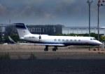 KAZKAZさんが、羽田空港で撮影したゲストエア G-V-SP Gulfstream G550の航空フォト(飛行機 写真・画像)