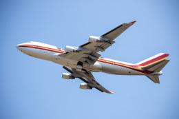 チャッピー・シミズさんが、成田国際空港で撮影したカリッタ エア 747-4B5F/SCDの航空フォト(飛行機 写真・画像)