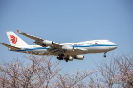 チャッピー・シミズさんが、成田国際空港で撮影した中国国際貨運航空 747-412F/SCDの航空フォト(飛行機 写真・画像)