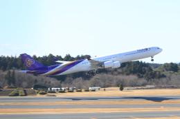 TAK_HND_NRTさんが、成田国際空港で撮影したタイ国際航空 A340-642の航空フォト(飛行機 写真・画像)