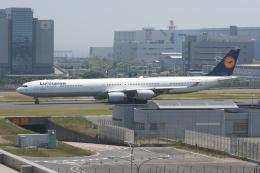 NIKEさんが、羽田空港で撮影したルフトハンザドイツ航空 A340-642の航空フォト(飛行機 写真・画像)