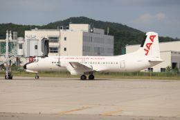Gripen-YNさんが、能登空港で撮影した日本航空学園 YS-11A-500の航空フォト(飛行機 写真・画像)