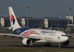 長月ぽっぷさんが、台湾桃園国際空港で撮影したマレーシア航空 A330-223の航空フォト(飛行機 写真・画像)