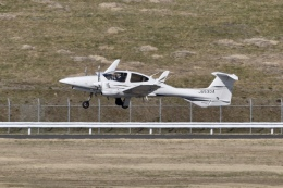 キハ28さんが、福島空港で撮影したアルファーアビエィション DA42 TwinStarの航空フォト(飛行機 写真・画像)