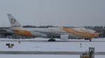 Rsaさんが、新千歳空港で撮影したノックスクート 777-212/ERの航空フォト(飛行機 写真・画像)