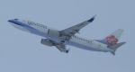 Rsaさんが、新千歳空港で撮影したチャイナエアライン 737-809の航空フォト(飛行機 写真・画像)