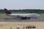 mojioさんが、成田国際空港で撮影したデルタ航空 747-451の航空フォト(飛行機 写真・画像)