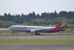 mojioさんが、成田国際空港で撮影したアシアナ航空 767-38Eの航空フォト(飛行機 写真・画像)