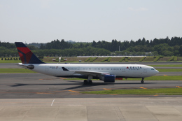 mojioさんが、成田国際空港で撮影したデルタ航空 A330-223の航空フォト(飛行機 写真・画像)