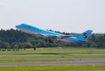 mojioさんが、成田国際空港で撮影した大韓航空 747-4B5F/ER/SCDの航空フォト(飛行機 写真・画像)