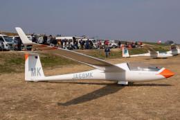 紫電さんが、妻沼滑空場で撮影した日本法人所有 Discus bの航空フォト(飛行機 写真・画像)