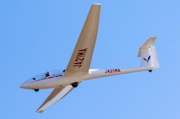 紫電さんが、宝珠花滑空場で撮影した日本個人所有 ASK 21の航空フォト(飛行機 写真・画像)