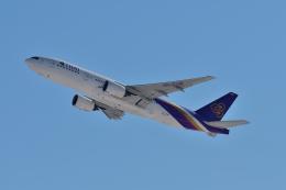 ひこ☆さんが、新千歳空港で撮影したタイ国際航空 777-2D7/ERの航空フォト(飛行機 写真・画像)
