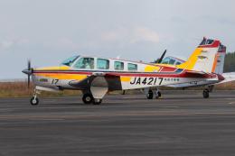 紫電さんが、宮崎空港で撮影した航空大学校 A36 Bonanza 36の航空フォト(飛行機 写真・画像)