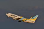 ひこ☆さんが、羽田空港で撮影したAIR DO 737-781の航空フォト(飛行機 写真・画像)